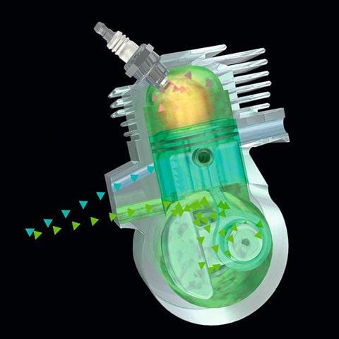 STIHL FS 38  - 2mix silnik